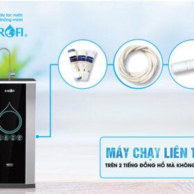 Tại sao máy lọc nước Karofi lọc liên tục mà không ngắt?