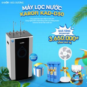Máy lọc nước Nóng - Lạnh KAROFI KAD-D50