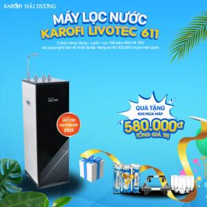 Máy lọc nước Karofi LIVOTEC 611